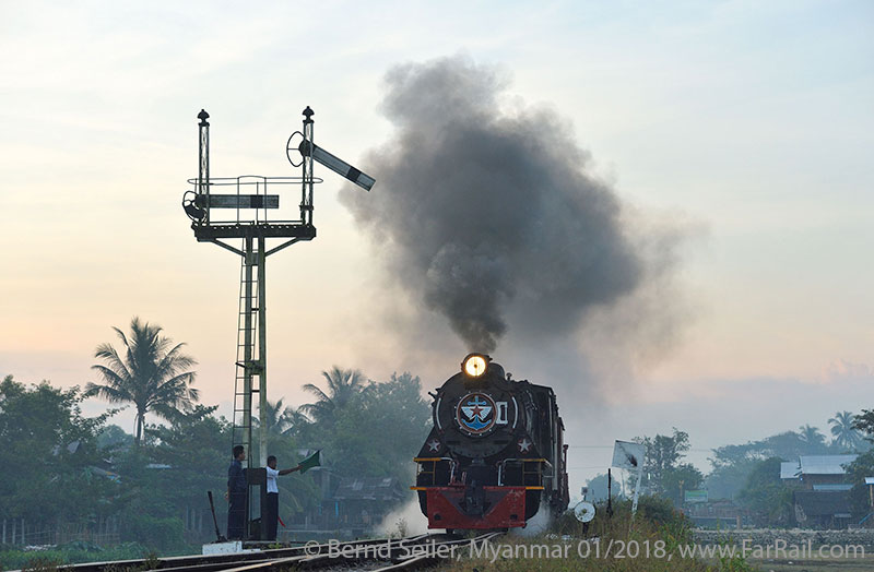 State Railway Steam in Burma